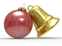 Free Christmas Decoration On White Background Royalty Free Stock Images - 11113859