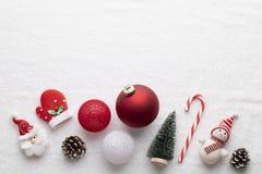 Free Christmas Decoration On White Background Royalty Free Stock Photography - 133978847