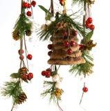 Christmas Decoration On White Background Stock Photo