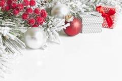 Free Christmas Decoration On White Background Stock Photos - 62558463