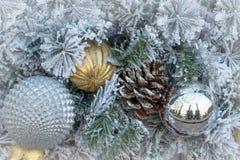 Christmas decoration ornament background royalty free stock photo