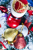Christmas Decoration Ornaments Stock Image