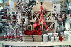 Christmas decoration and ornaments Stock Image