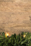 Christmas. Decoration over grunge background/vintage paper  card royalty free stock photography