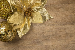 Christmas. Decoration over grunge background/vintage paper  card royalty free stock image