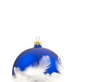 Christmas decoration over white background Stock Photo