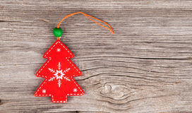 Christmas decoration. Over wooden background stock photos