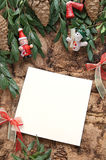 Christmas decoration with paper Stock Photo