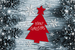 Christmas decoration of pine cones Stock Photos