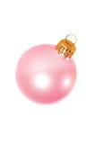 christmas decoration pink Στοκ εικόνα με δικαίωμα ελεύθερης χρήσης