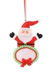 Christmas decoration plastic santa. Royalty Free Stock Photo