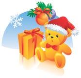 Christmas decoration, present stock illustration