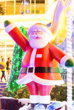 Christmas decoration at the Promanade department store Royalty Free Stock Images