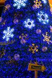 Christmas decoration at the Promanade department store Royalty Free Stock Photo