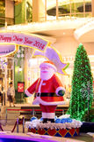 Christmas decoration at the Promanade department store Royalty Free Stock Photos