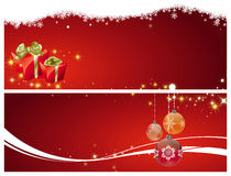 Christmas decoration red Stock Image