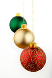 Christmas decoration red Royalty Free Stock Image
