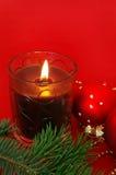 christmas decoration red Στοκ φωτογραφία με δικαίωμα ελεύθερης χρήσης