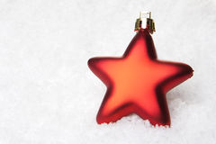 Christmas decoration red Royalty Free Stock Photo