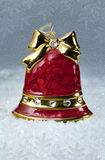 Christmas decoration red bell Royalty Free Stock Photos
