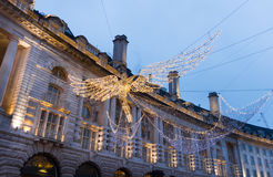 Christmas decoration in the Regent street, London Stock Image