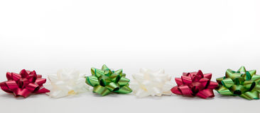 Christmas decoration, ribbon Royalty Free Stock Photo
