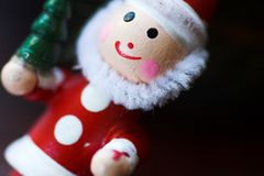 Christmas decoration santa Royalty Free Stock Photography