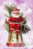 Christmas decoration with Santa Claus Royalty Free Stock Photo