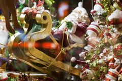 Christmas decoration with Santa Claus Royalty Free Stock Photos