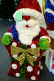 Christmas decoration. The Santa Claus doll for decoration Stock Image