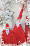 Christmas decoration Santa Stock Photos