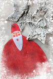 Christmas decoration Santa Stock Photo