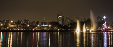 Free Christmas Decoration - Sao Paulo Ibirapuera Park Stock Photo - 135941230