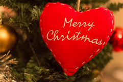 Christmas Decoration. Seasonal decoration on a Christmas tree Royalty Free Stock Photo
