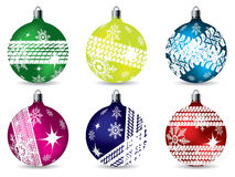 Christmas decoration set Stock Images