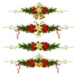 Christmas elements for your designs Royalty Free Stock Images
