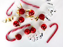 Christmas decoration set Stock Photography