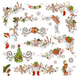 Christmas decoration set. Stock Photography