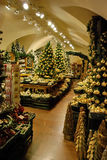 Christmas decoration shop. In Salzburg Royalty Free Stock Images