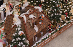 Christmas decoration at shopping center Olympia Royalty Free Stock Photo