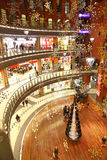 Christmas decoration in shopping mall Royalty Free Stock Image