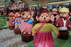 Christmas decoration in shopping mall Stock Images