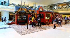 Christmas decoration at shopping mall Royalty Free Stock Image