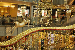 Christmas Decoration at Singapore Orchard Road Royalty Free Stock Photography