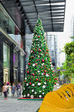 Christmas Decoration at Singapore Orchard Road Royalty Free Stock Image