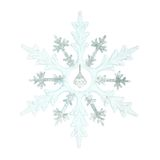 Christmas decoration, snowflake Royalty Free Stock Image