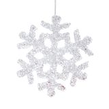 Christmas decoration, snowflake Stock Photos