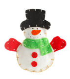 Christmas decoration snowman Stock Images