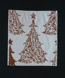 Christmas decoration. Some Christmas decoration on paper background Stock Images