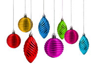 Christmas decoration spectrum Royalty Free Stock Photo